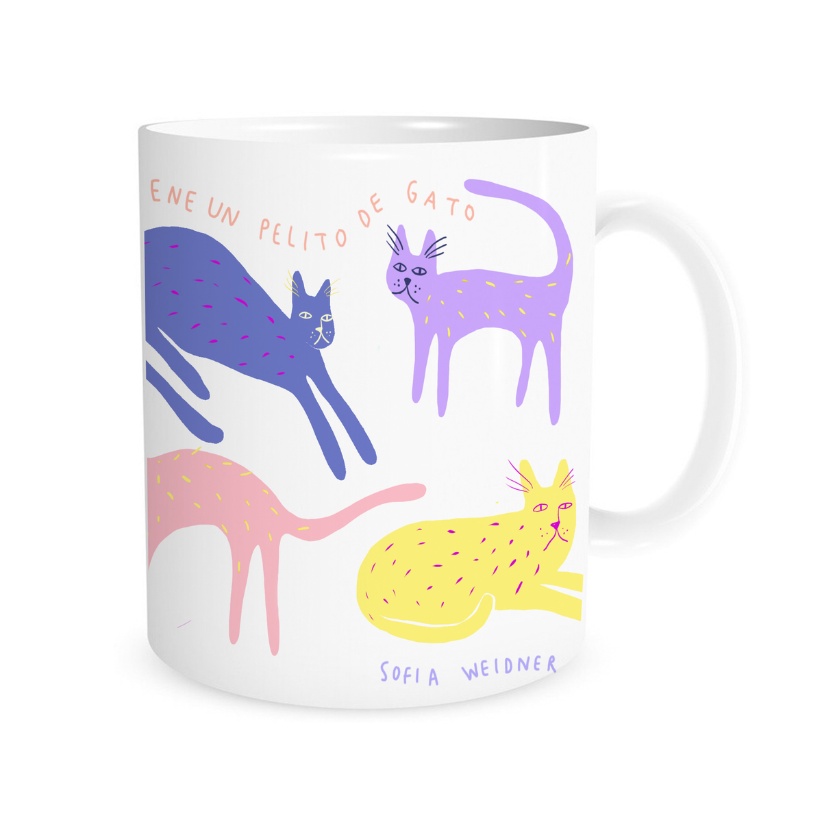 Image of Taza de gatos