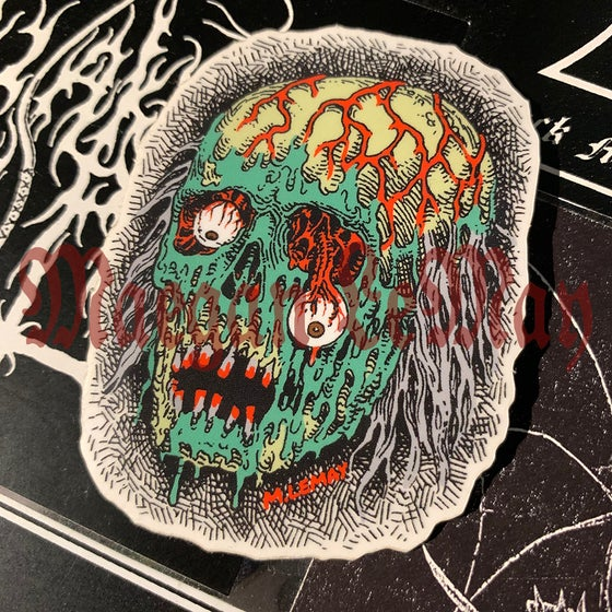 Image of Mutilated Zombie sticker