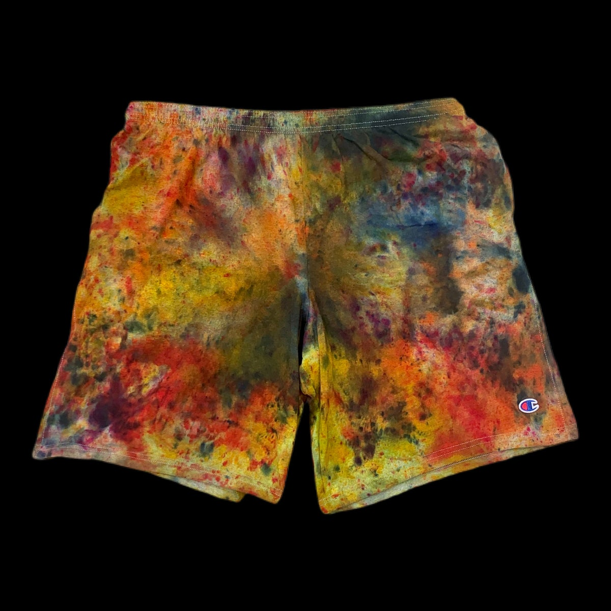 Custom Hand Dyed Champion Shorts! With Pockets!!