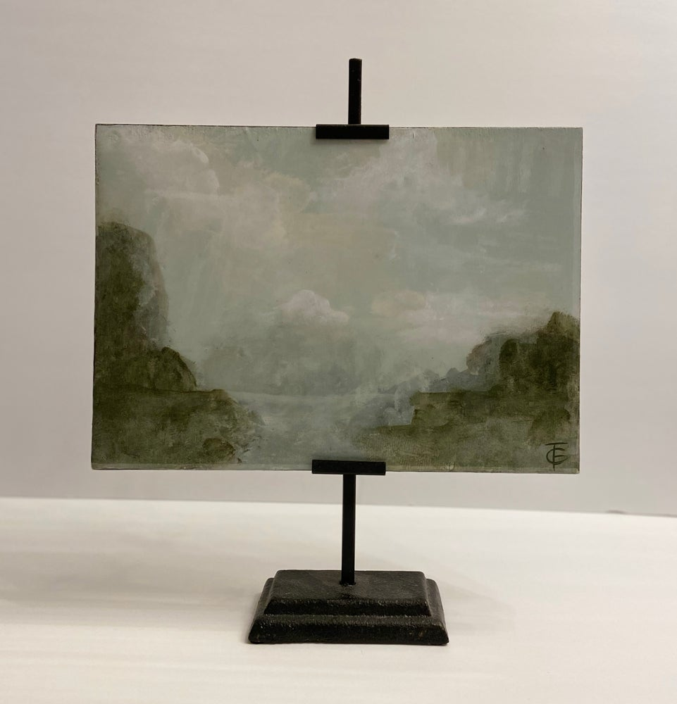 Image of RESIN LANDSCAPE ON EASEL