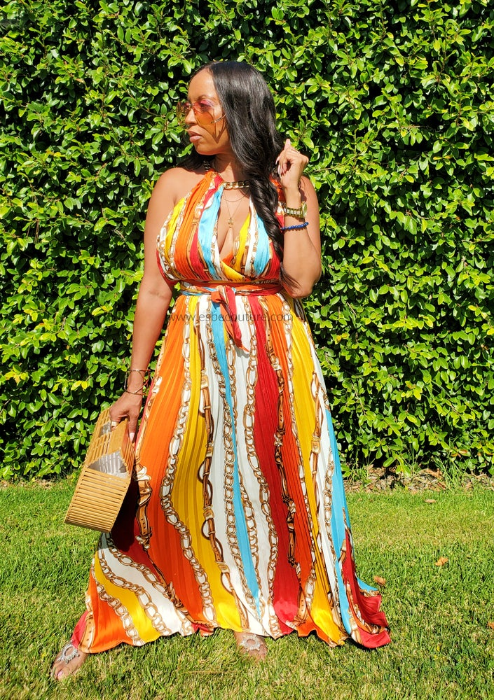 Image of Lock & Key Maxi Dress