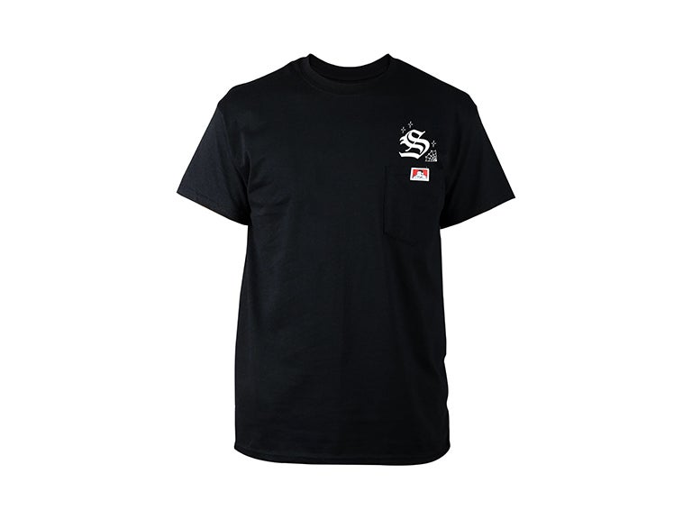 "Image of Shane's x Ben Davis ""Web"" Pocket Tee (Black)"
