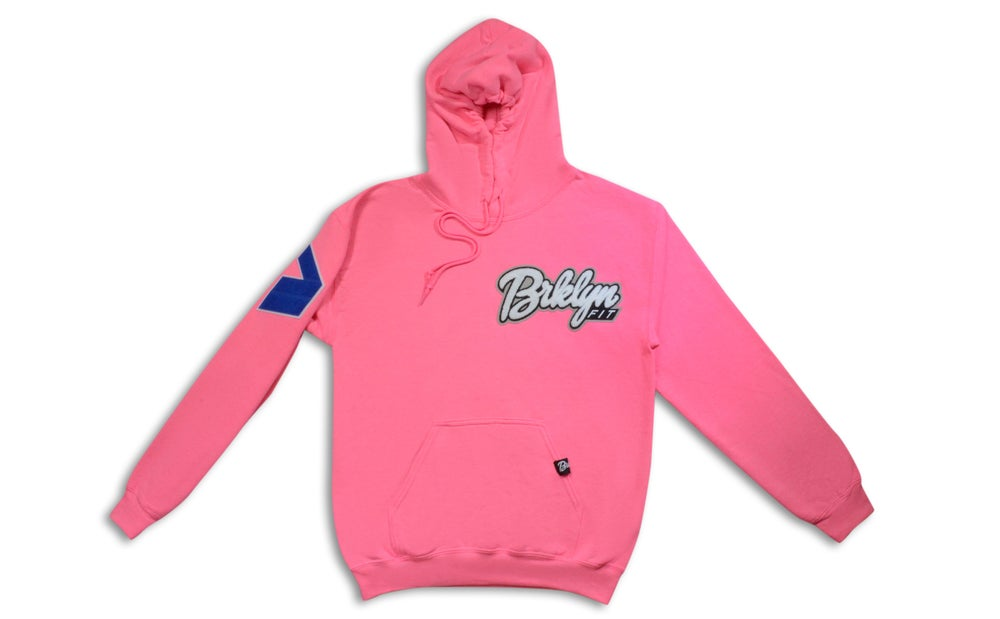 Image of Brklyn Fit® Patch Hoodie (Pink)