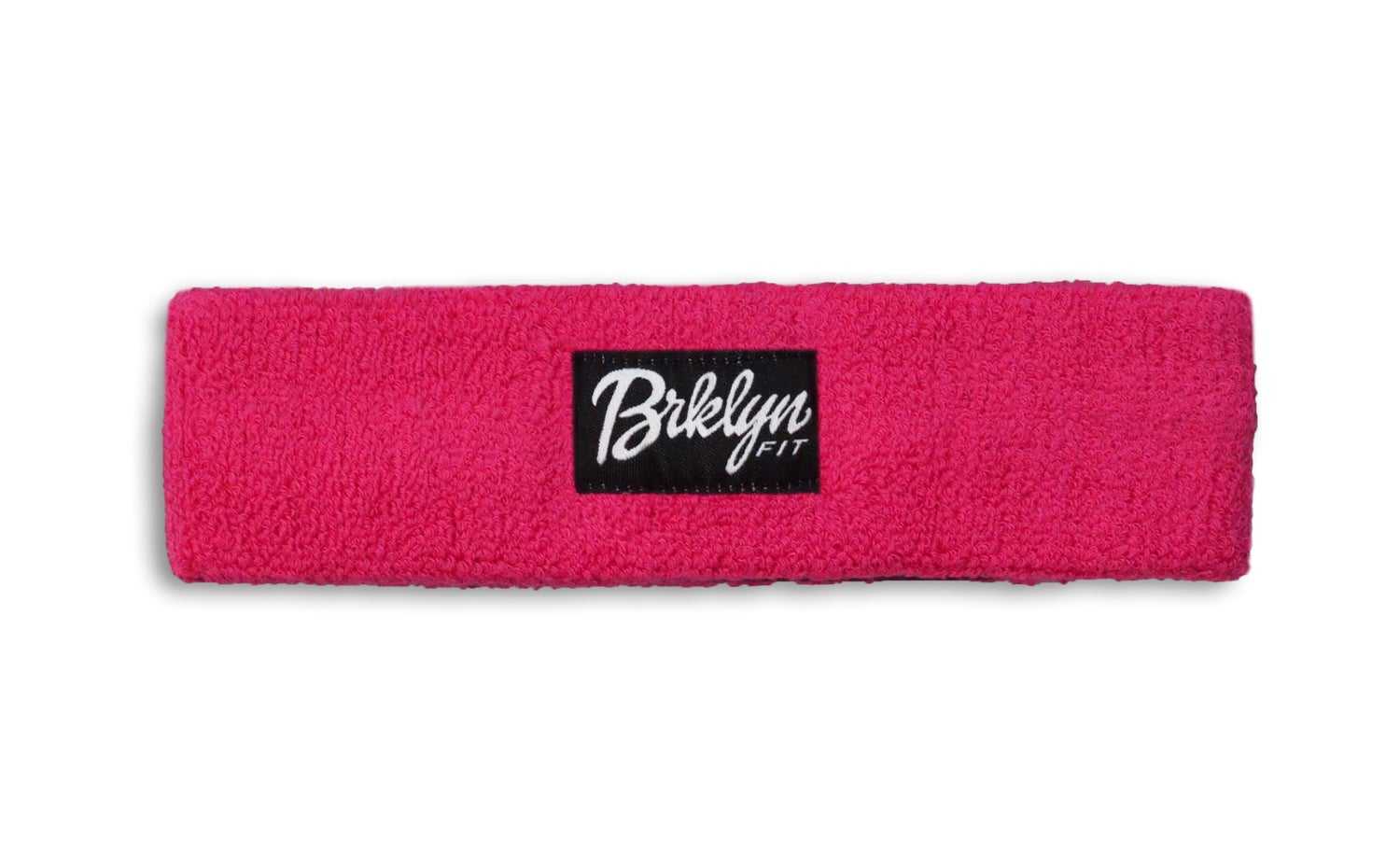 Image of Brklyn Fit® Woven Label Headband (Pink)
