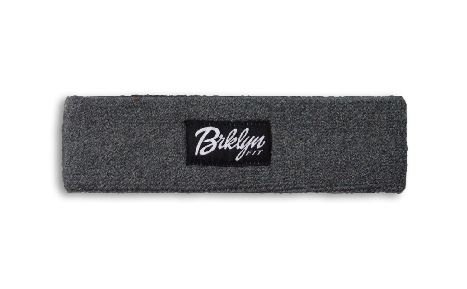 Image of Brklyn Fit® Woven Label Headband (Grey)
