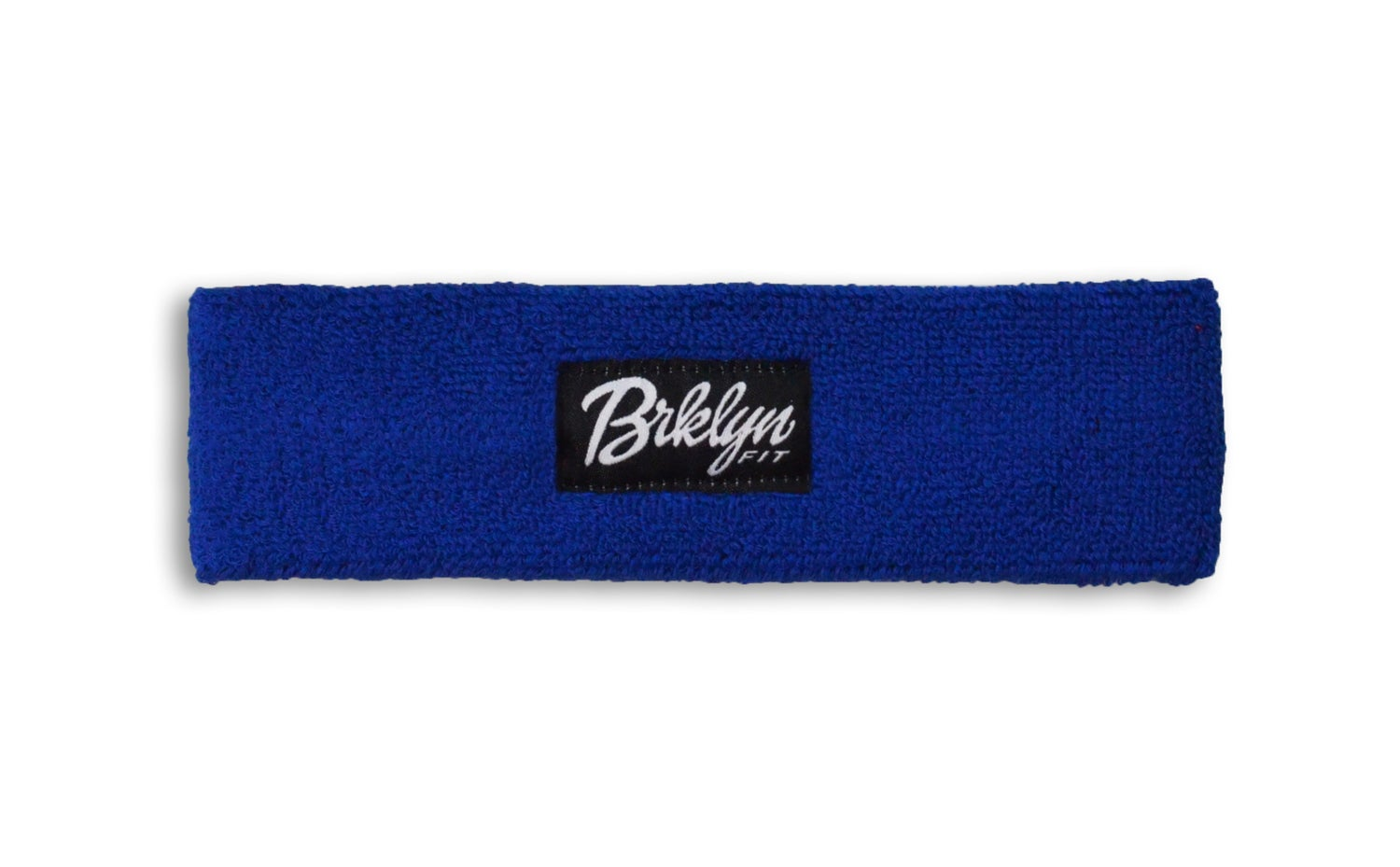 Image of Brklyn Fit® Woven Label Headband (Blue)