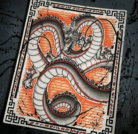 """Image of """"Divine Dragon"""" Shenron Prints"""