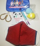 Image 2 of Classy & Fabulous Pouch And Denim Face Mask Bundle