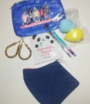 Image 3 of Classy & Fabulous Pouch And Denim Face Mask Bundle