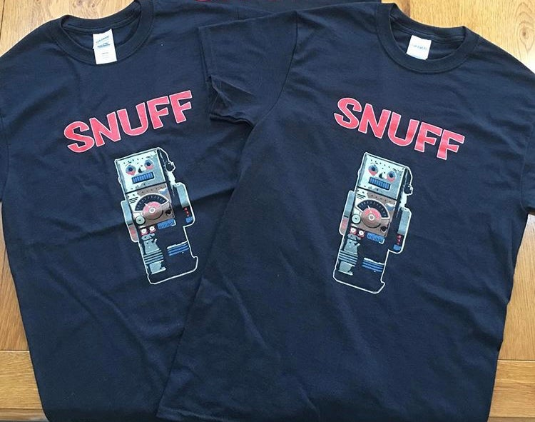 Snuff 'Robot' T-shirt (Men's & Ladies Sizes Available)