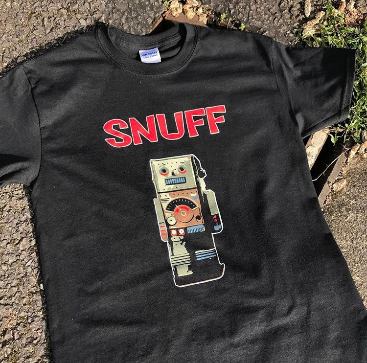 Snuff 'Robot' T-shirt (Men's & Ladies Sizes Available)