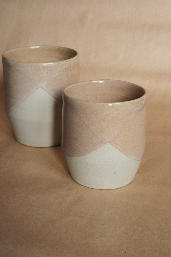 Image of Flat white tumbler - Kere Whenua