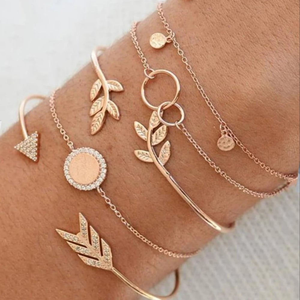 Image of Golden Stack Bracelets
