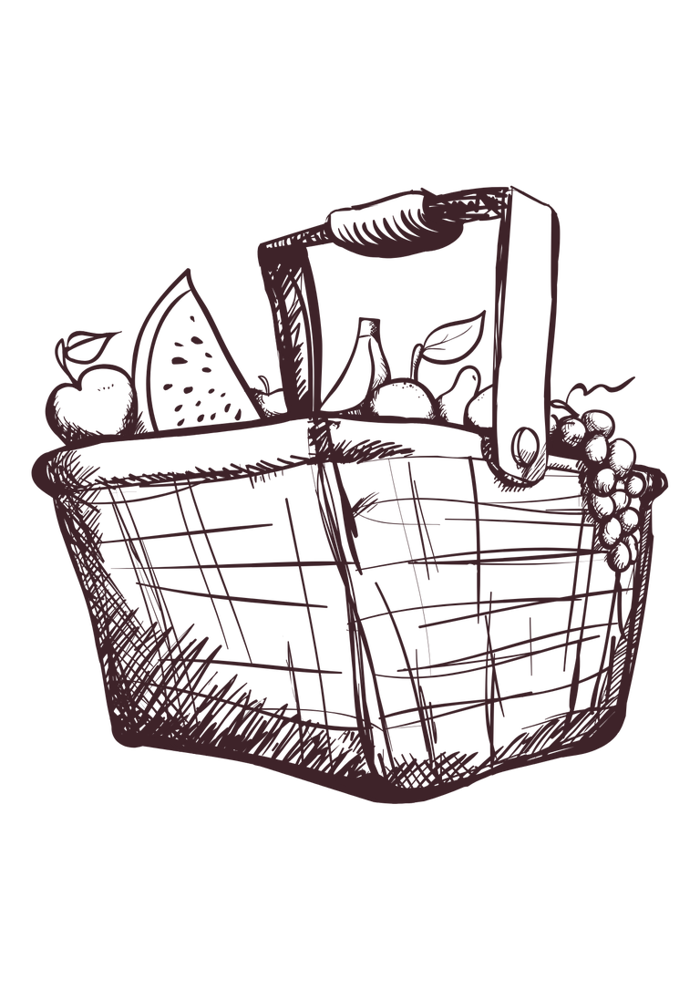 Image of 17th July - PICNIC HAMPER - Friday Collection - 14:30-16:30