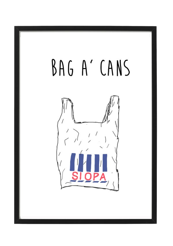 Image of Bag A Cans Frame