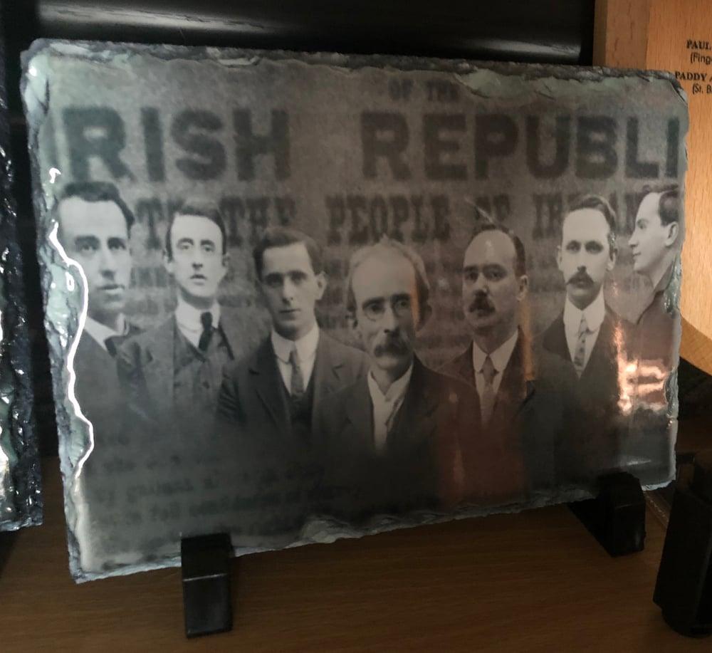 Easter Rising Signatories  Slate