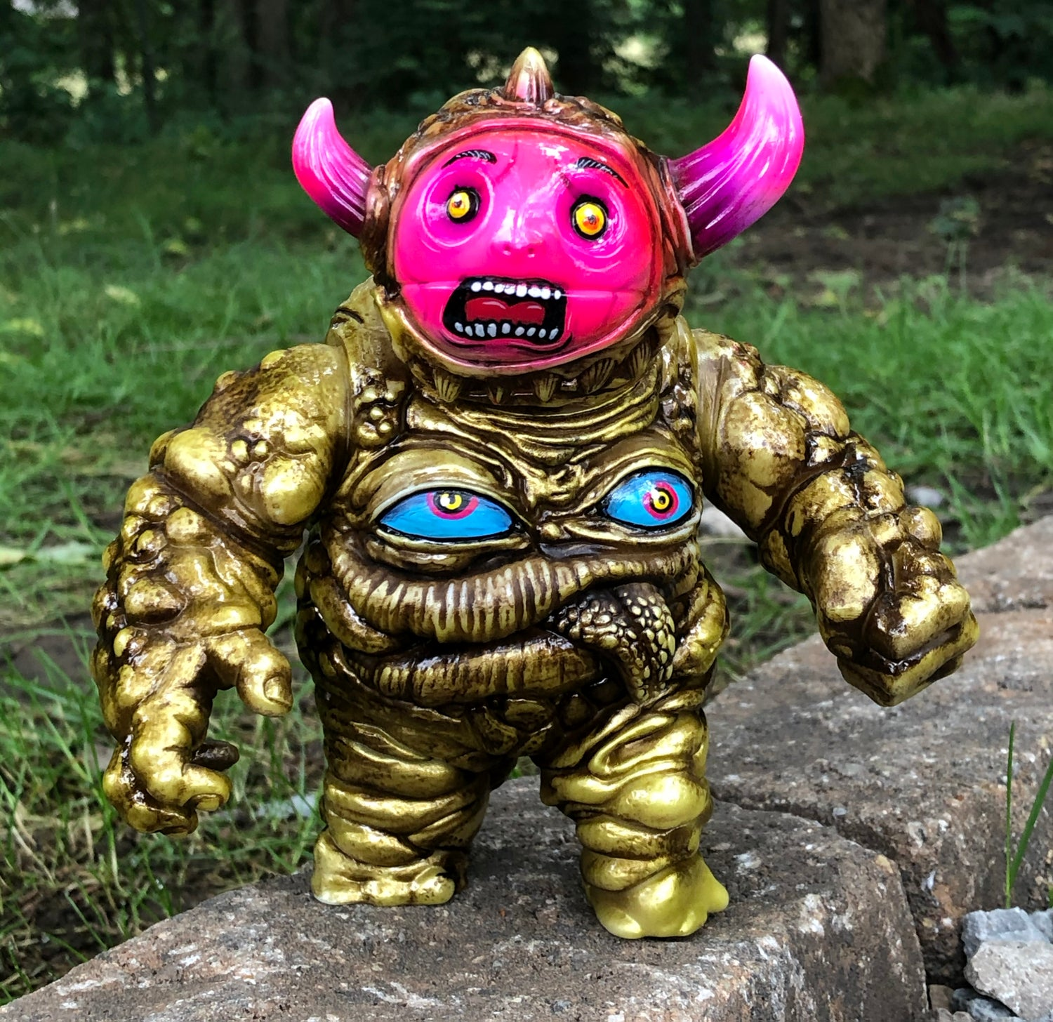 "Image of ""EVIL DAVE"" #3 Custom Henry and the Max  a.k.a THE GOLDEN CHILD BUNDLE"