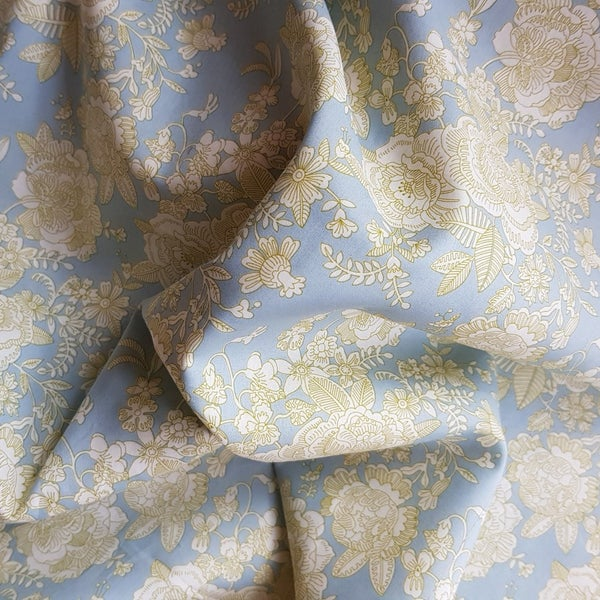Image of Liberty- Cambridge lace Ice blue