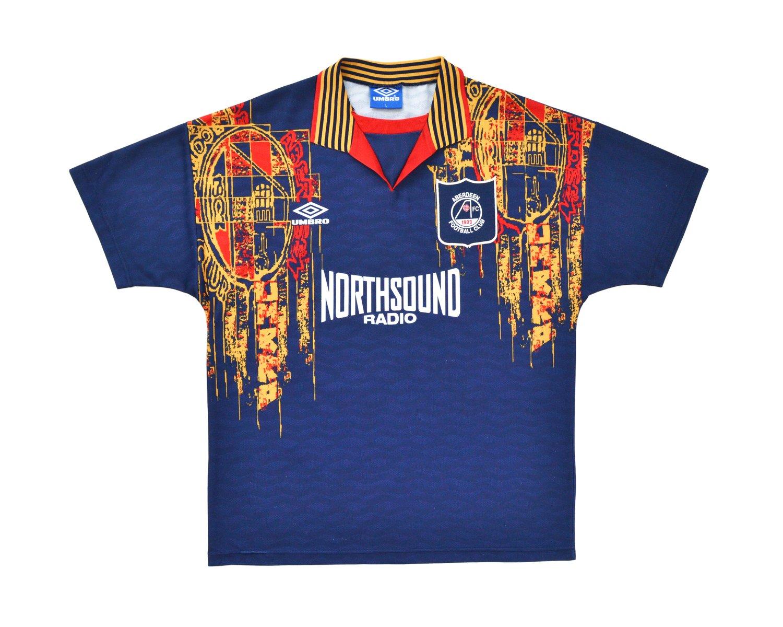 Image of 1994-96 Umbro Aberdeen Away Shirt L