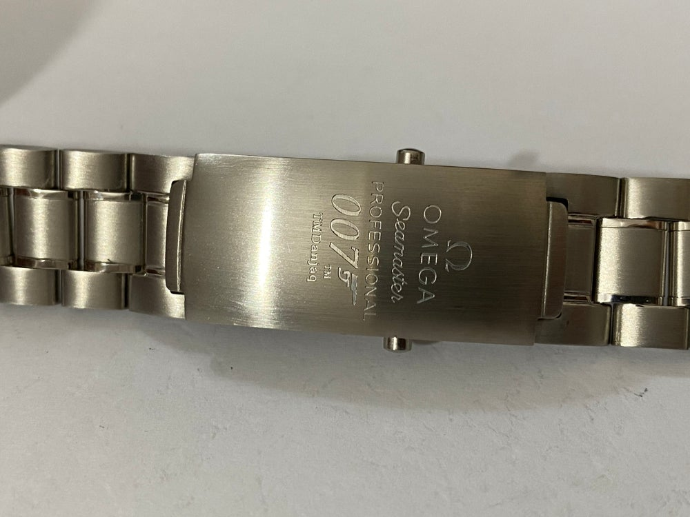 Image of OMEGA SEAMASTER PROFESSIONAL 007 SPORTS S/STEEL GENTS WATCH STRAP 20mm [OST-9]