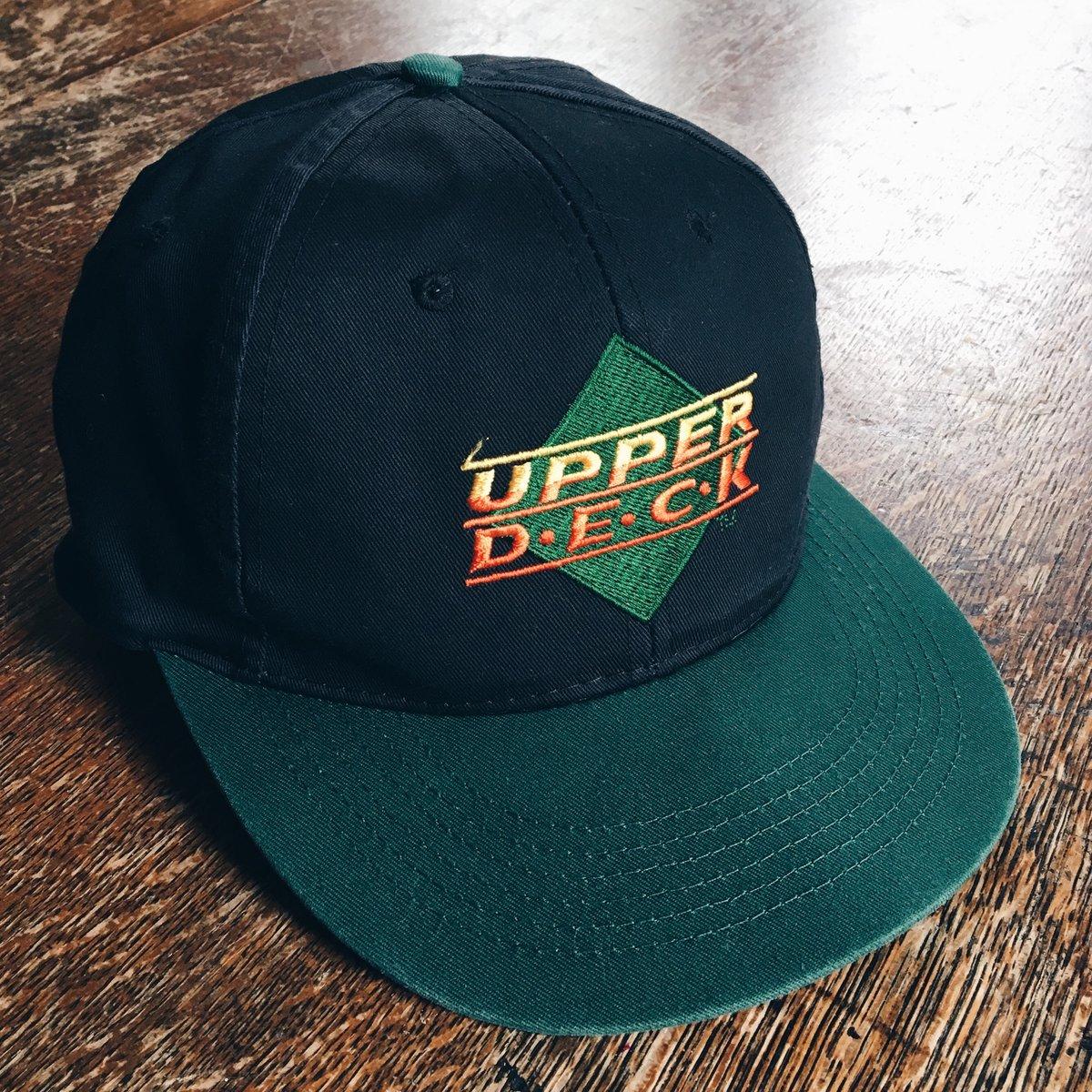 Image of Original 90's Upper Deck Snapback Hat.