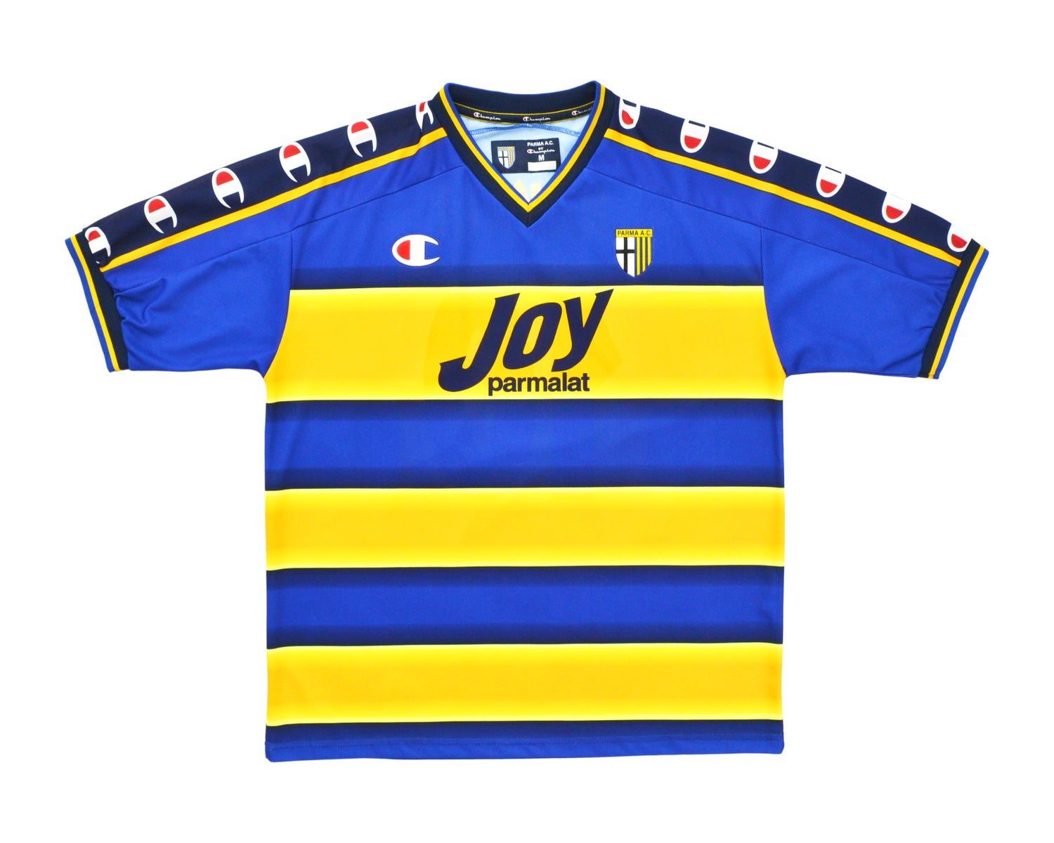 Image of 2001-02 Champion Parma Home Shirt 'Nakata 10' M
