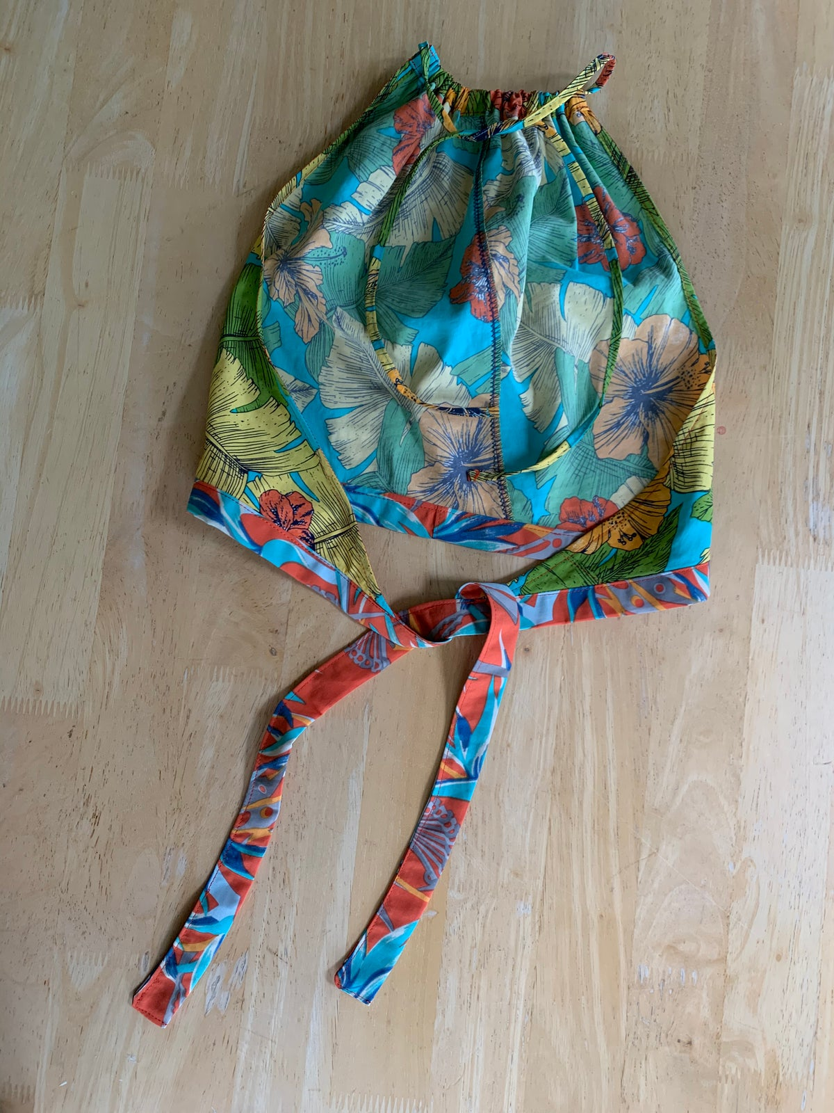 Image of Repurposed Baggies Halter Top