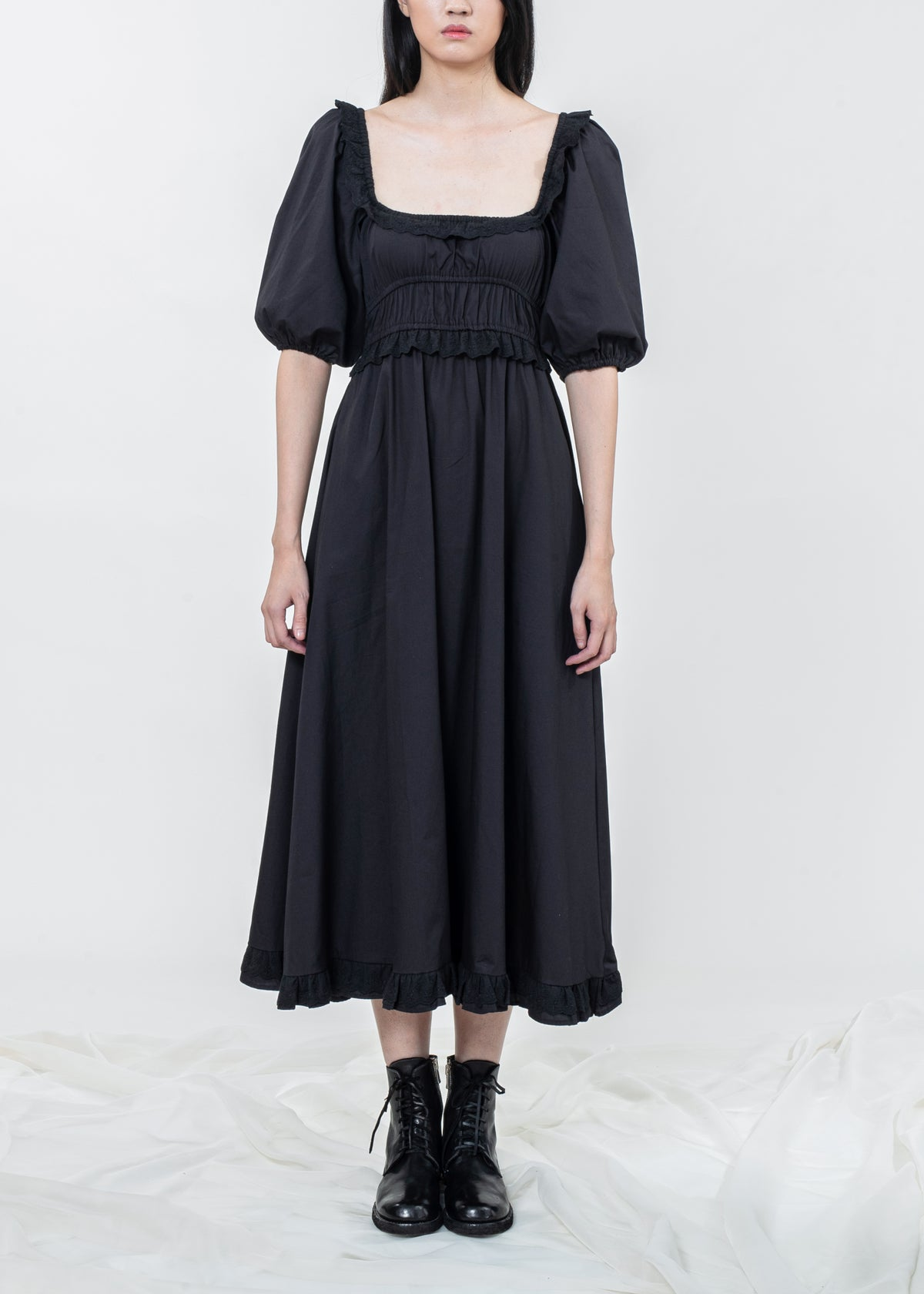 Image of Lilydale  Long Dress - Black