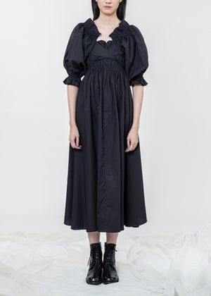 Image of Iris Multi-Way Dress With Ruched Shrug