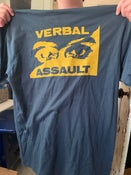 Image of VERBAL ASSAULT 1990 US Tour Shirt Reproduction