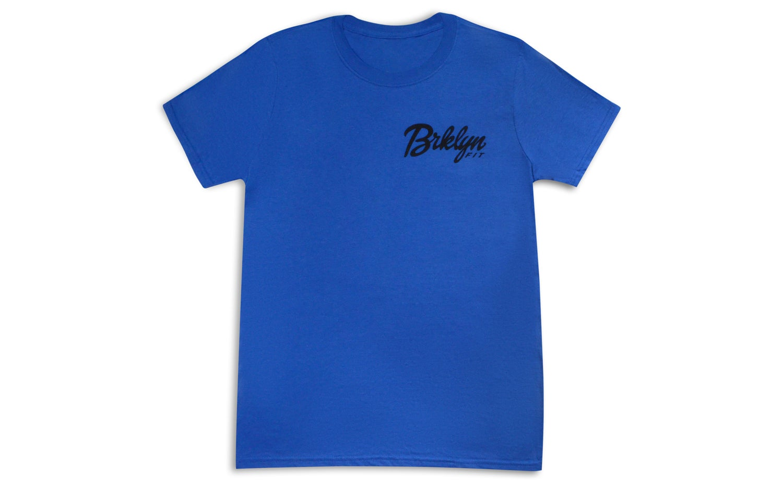 Image of Brklyn Fit® Logo T-Shirt (Blue)