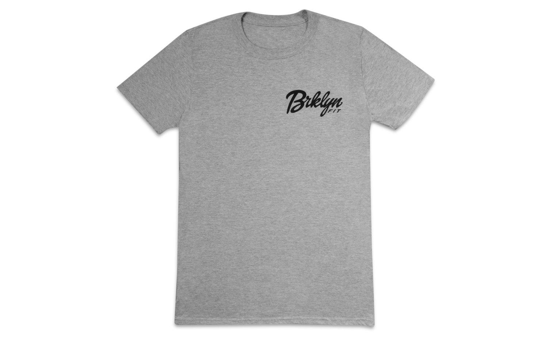 Image of Brklyn Fit® Logo T-Shirt (Grey)