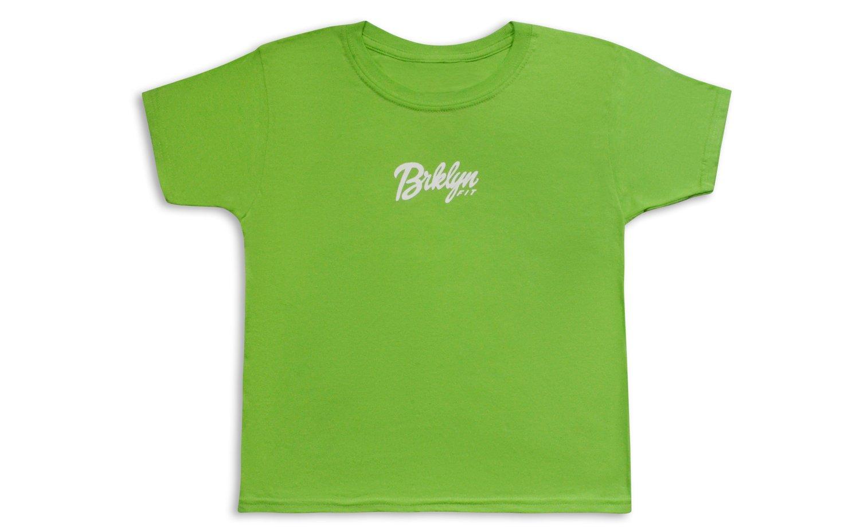 Image of Brklyn Fit® Logo Kids T-Shirt (Lime)