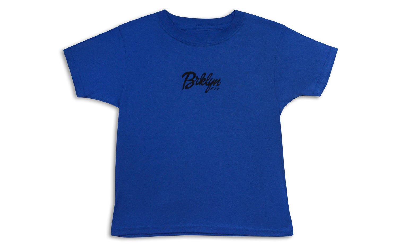 Image of Brklyn Fit® Logo Kids T-Shirt (Blue)