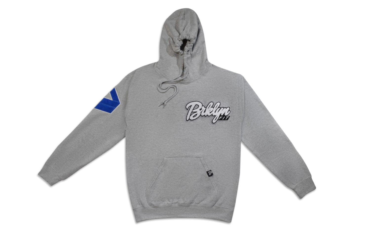 Image of Brklyn Fit® Patch Hoodie (Grey)