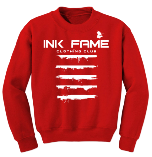 "Image of Ink Fame ""Signature"" Drippin Paint Sweatshirt"