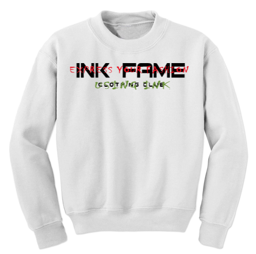 "Image of Ink Fame ""Classic"" Tagged Sweatshirt"