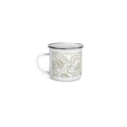 Image of Tamography™ Enamel Mug