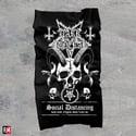 "Dark Funeral ""Social Distancing"" face shield"