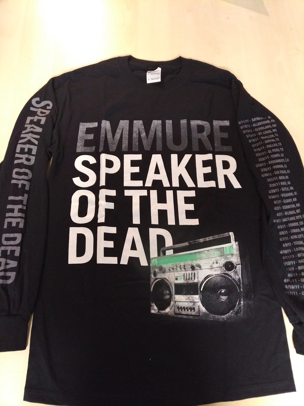 "EMMURE ""SPEAKER"" LONG SLEEVE SHIRT"