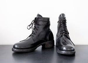 Image of SAMPLE SALE - Handcrafted Lace Up Leather Ankle Boot