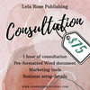 Self-Publishing Consultation