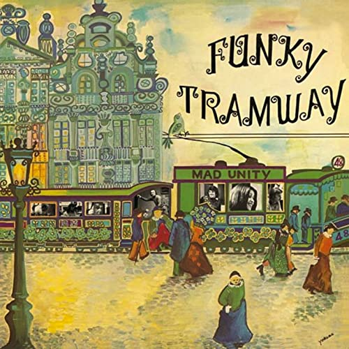 Image of Janko Nilovic (Mad Unity)-Funky Tramway LP, Underdog Records, UR825691