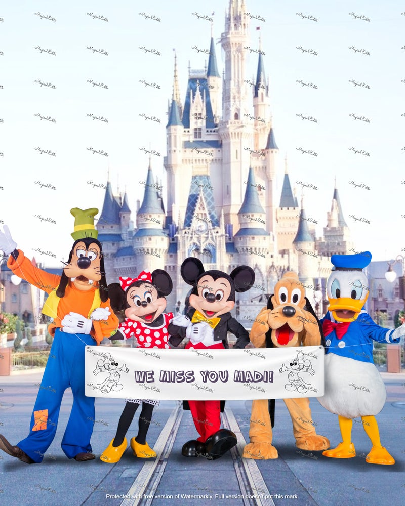 Image of Custom Banner Edit - DW