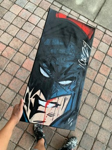 """Image of Batman """" Is That All You Got?! """" painted by Official NEHS"""
