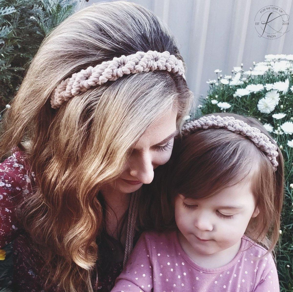 Image of Mummy and Honey Headbands - Honey