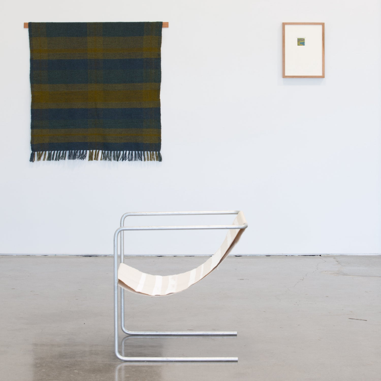 Image of Plaid Throw Ophelia Mikkelson Jones x Colourist Weaving