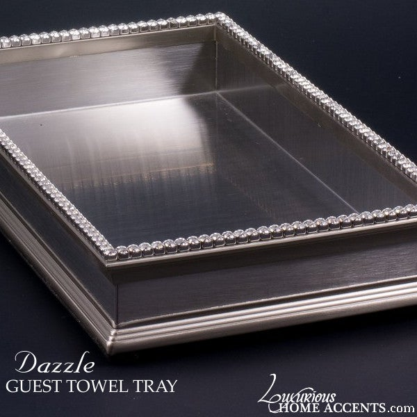 Image of Dazzle Swarovski Crystal All Purpose Tray