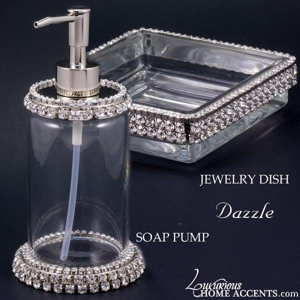 Image of Dazzle Jewelry Dish & Soap Pump