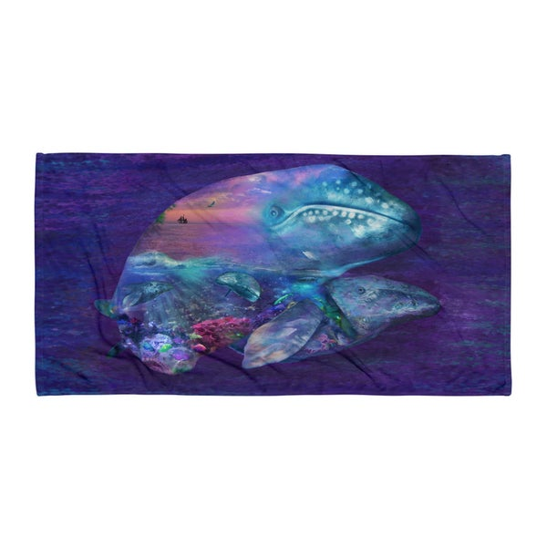 Image of Whale Dream Beach Towel